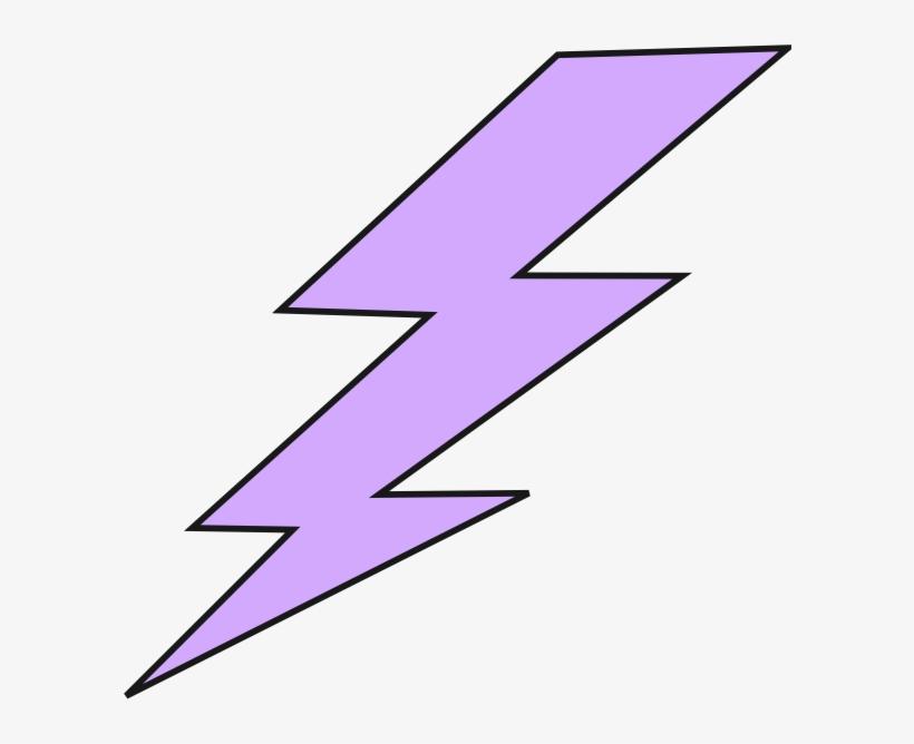 Lightning Bolt Clip Art At Clker Com Vector Clip Art - Purple Lightning Bolt Clipart, transparent png #100981