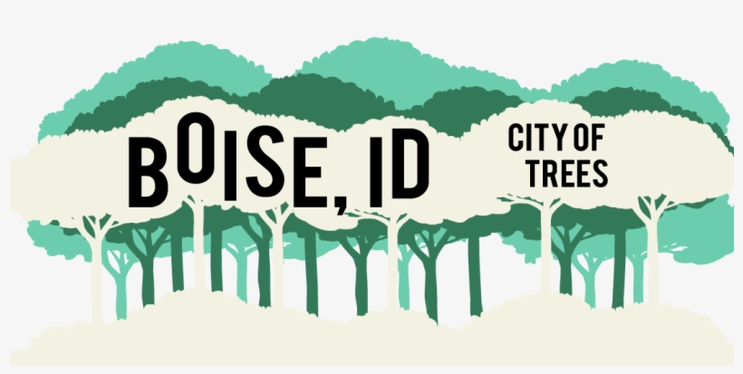 Geofilter Template Boise Id Cityoftrees - Snapchat Geofilter Png, transparent png #101538