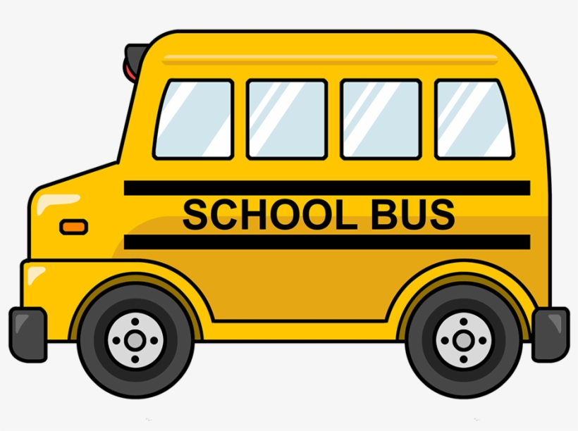 Animated Bus Clipart Coloring Page Clever Design Ideas - School Bus Clipart, transparent png #101900