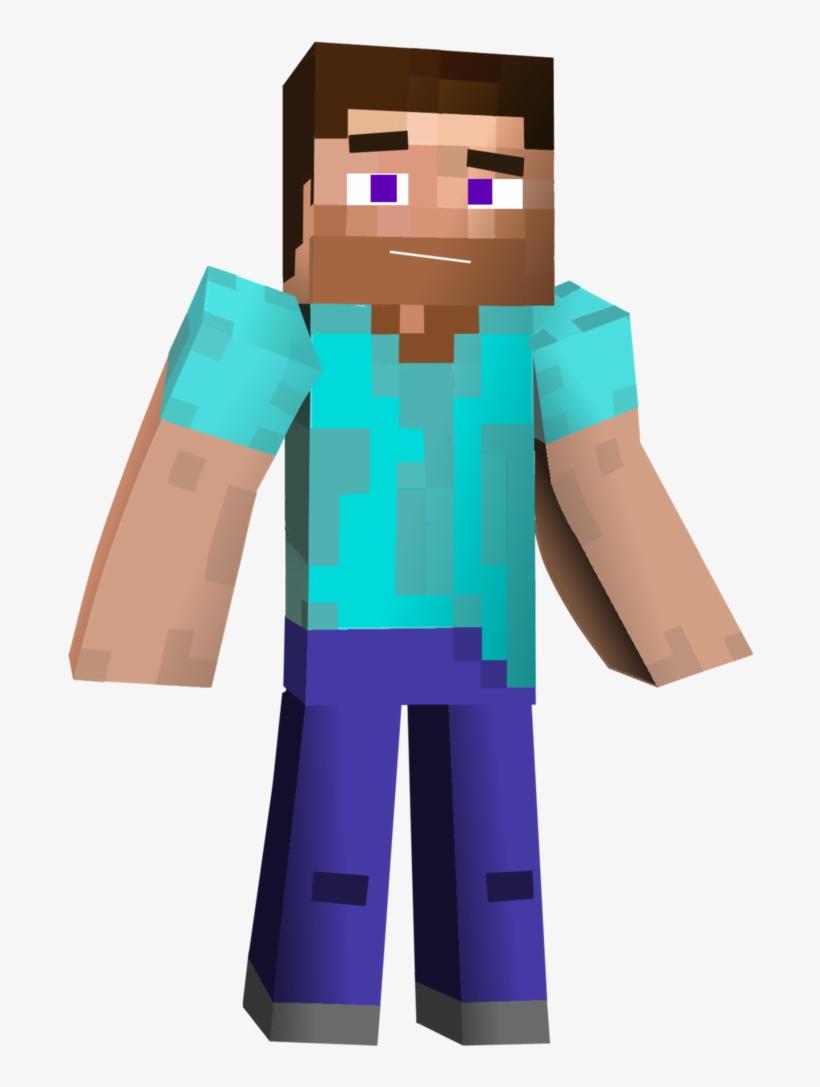 Minecraft Steve 3d Png Free Transparent Png Download Pngkey