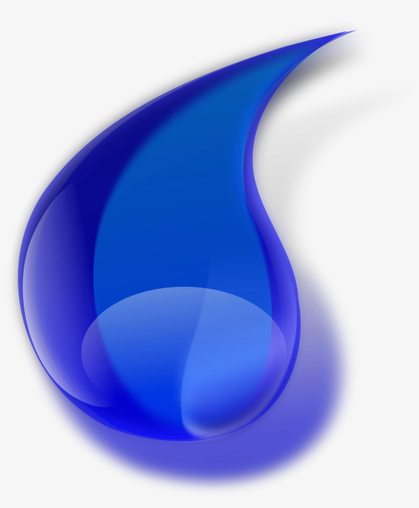 Water Drop Clipart Png - Water Drop Png Hd, transparent png #102095