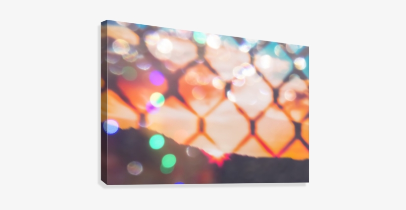 Summer Sunset Sky Over The Mountain With Bokeh Light - Sky, transparent png #102257