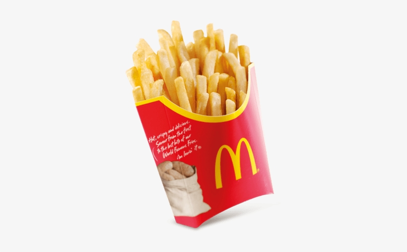 Food - Mcdonalds French Fries Png, transparent png #103601
