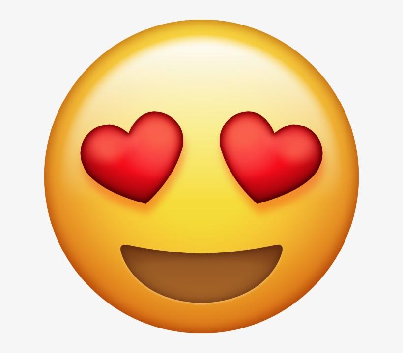Png Images Pluspng Download Heart Eyes - Emoji Ojos De Corazon, transparent png #104037