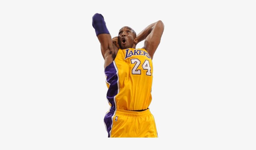 Kobe Bryant Shot - Kobe Bryant Transparent, transparent png #104062