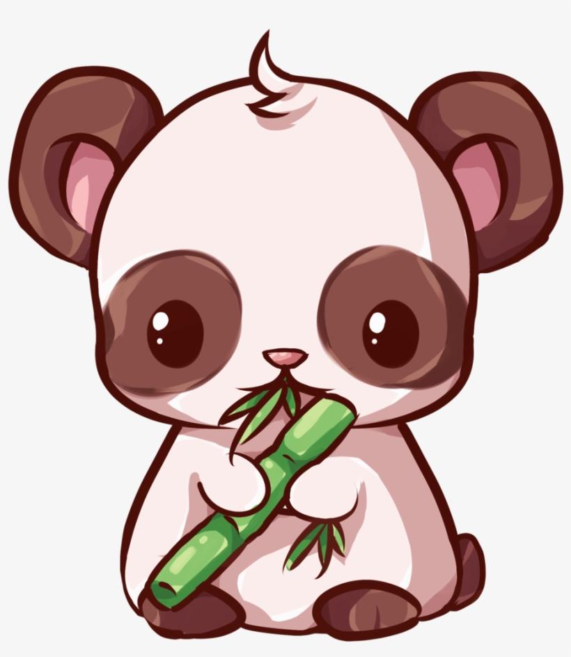 Kawaii Panda By Dessineka - Kawaii Panda Png, transparent png #104119