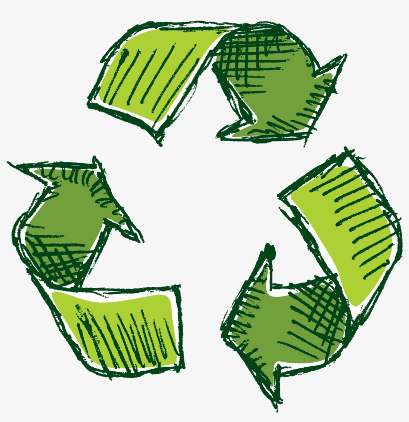 photograph relating to Printable Recycle Symbol called Clear Heritage Cost-free Recycling Logo Printable