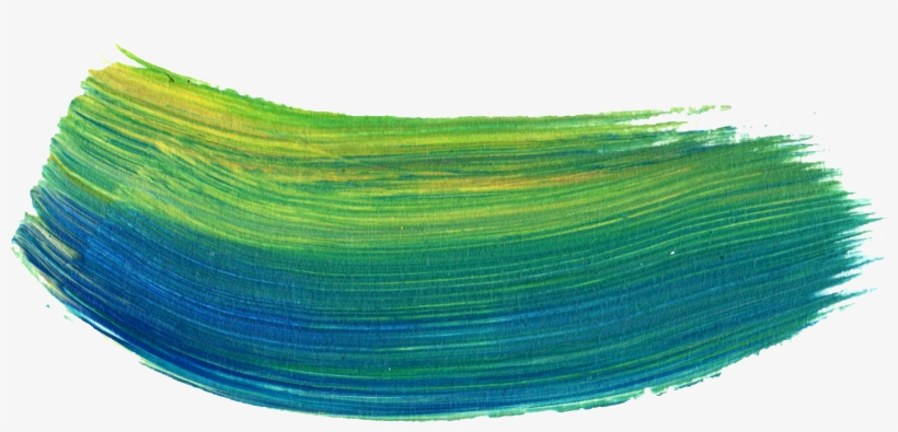 Free Download - Green Brush Stroke Png, transparent png #105099