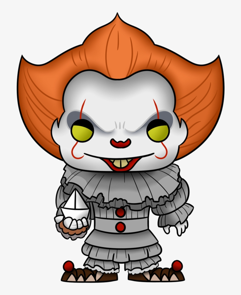 Pennywise Funko Pop - Pennywise Funko Pop Png, transparent png #106113