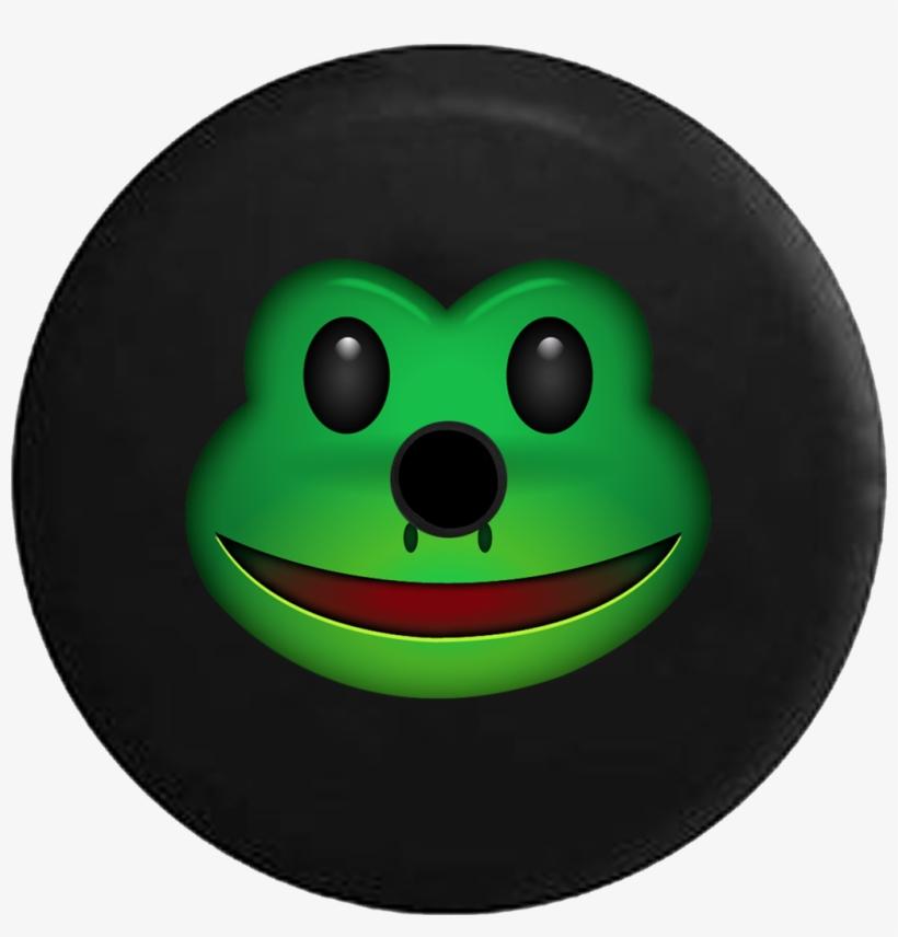 Jeep Wrangler Jl Backup Camera Day Text Emoji Frog - Emoji, transparent png #106476