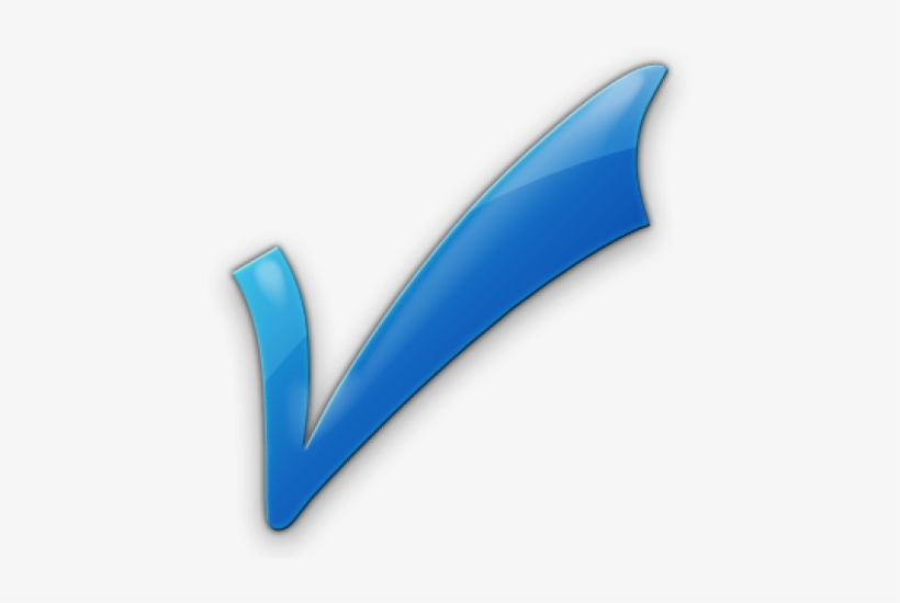 Check Mark Legacy Icon Tags Icons Etc - Blue Check Mark Png, transparent png #106973