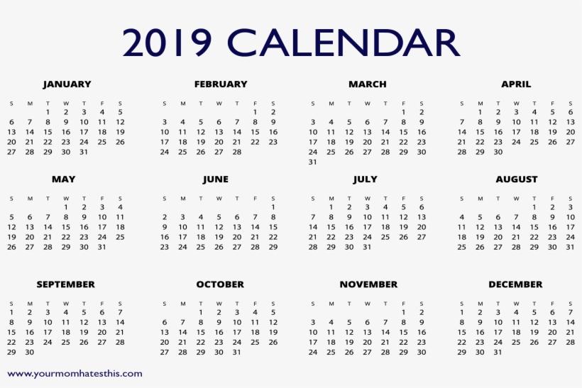 Free 2019 Excel Calendar 2019 Free Calendar Templates Free