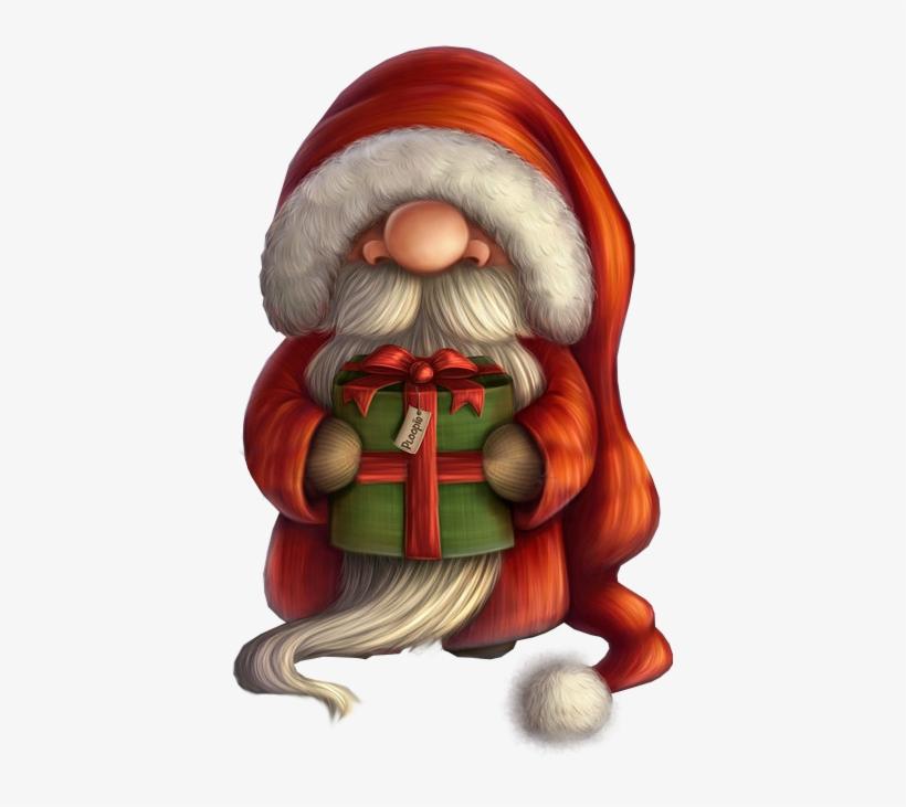 Фото, Автор Иришка-манюшка На Яндекс - Little Santa With A Gift Tote Bag, Adult Unisex, Natural, transparent png #107744