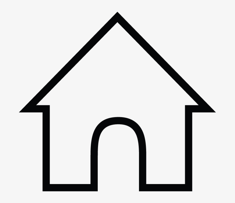House Icon Png White - Family Worksheets For Preschool - Free Transparent  PNG Download - PNGkey