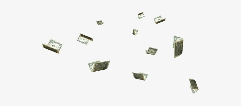Photobucket Money Falling Png - Money Floating Png, transparent png #108350
