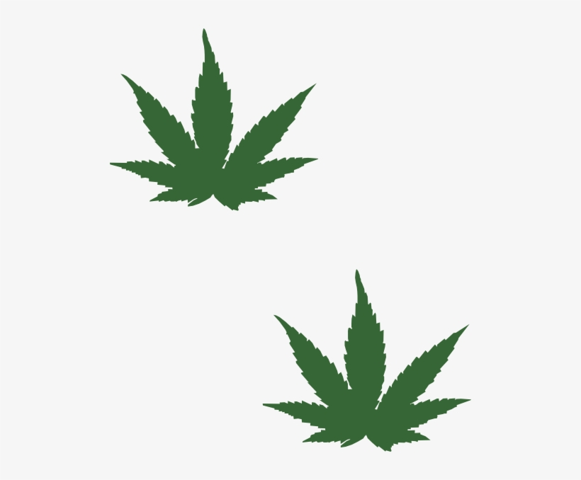 cartoon weed leaf png png black and white stock small
