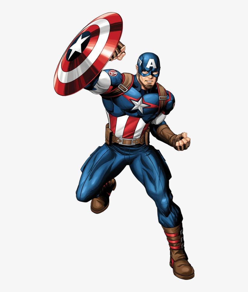 Create Your Own Super Hero Poster - Avengers Ultron Revolution Captain America, transparent png #108695