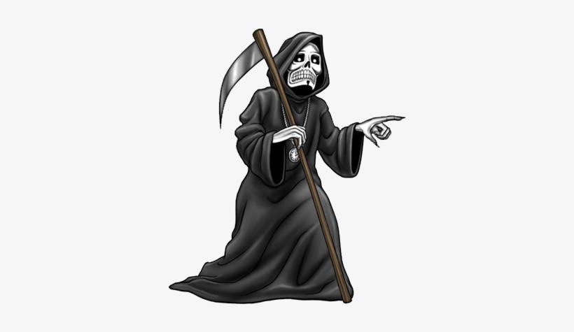 Halloween Graphics Reaperpng - La Muerte Halloween Png, transparent png #109261
