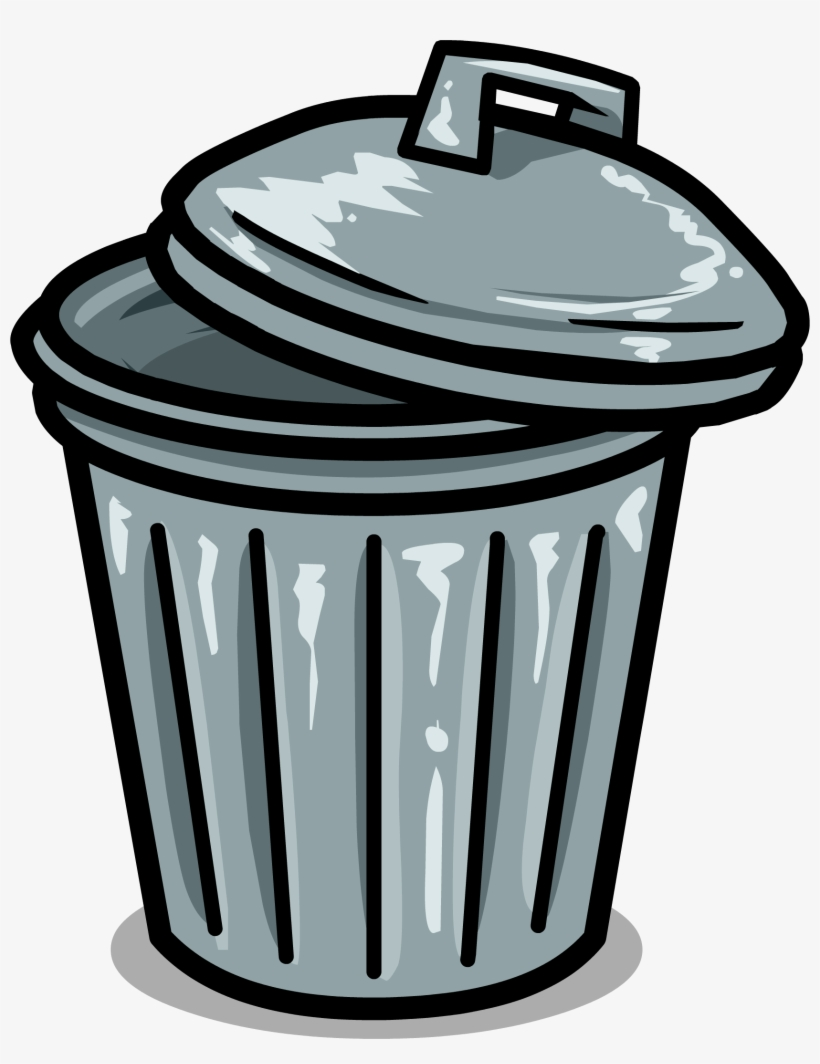 Trashcan Sprite 001 - Clip Art Garbage Can, transparent png #109972