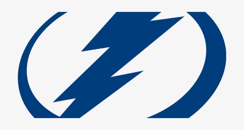 Tampa Bay Lightning - Black Tampa Bay Lightning Logo, transparent png #1001297