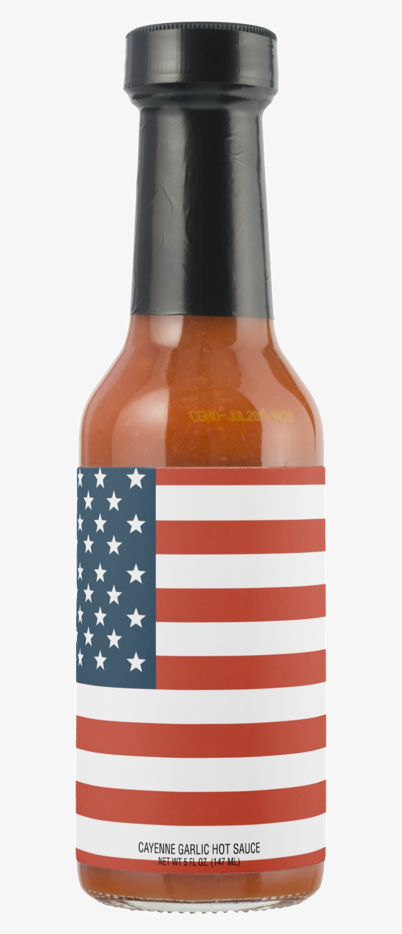 American Flag Fourth Of July Hot Sauce - Hot Sauce, transparent png #1002155