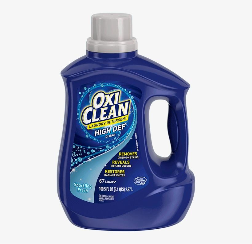 Oxiclean™ Liquid Laundry Detergent Sparkling Fresh - Oxiclean Detergent, transparent png #1004146