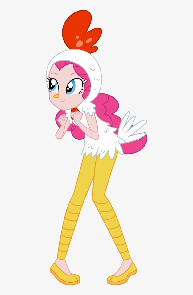 Pinkie Chicken Pie Vector By Invisibleinkdoodles - Chicken Pinkie Pie, transparent png #1004610
