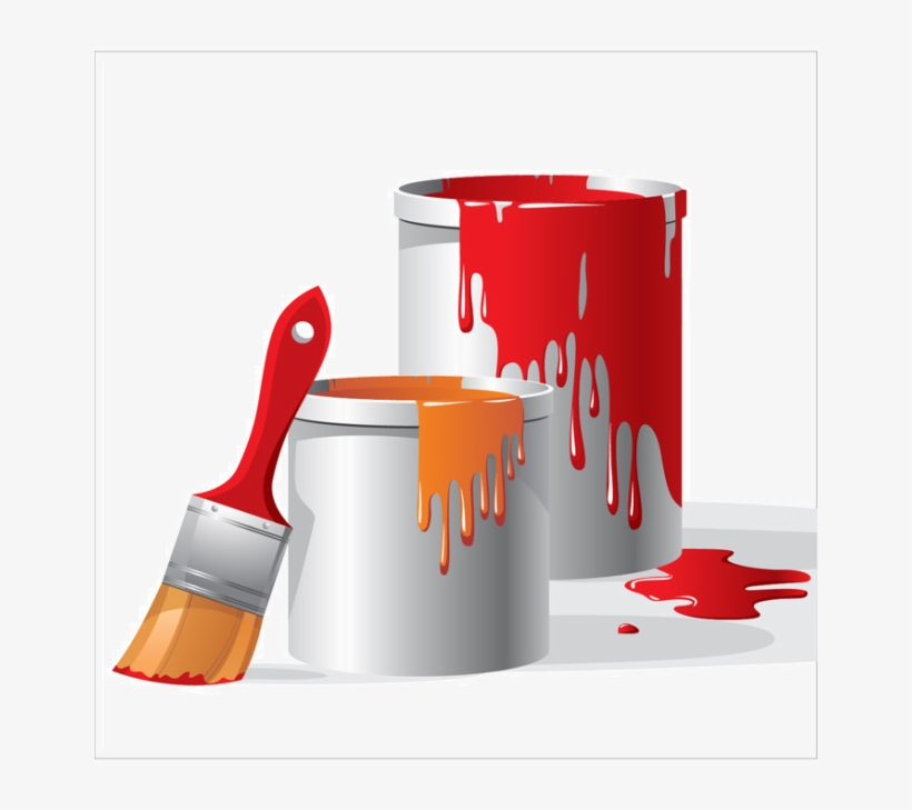 Picture Transparent Download Paint Brush Clip Art Textured - Paint Bucket Png, transparent png #1005319