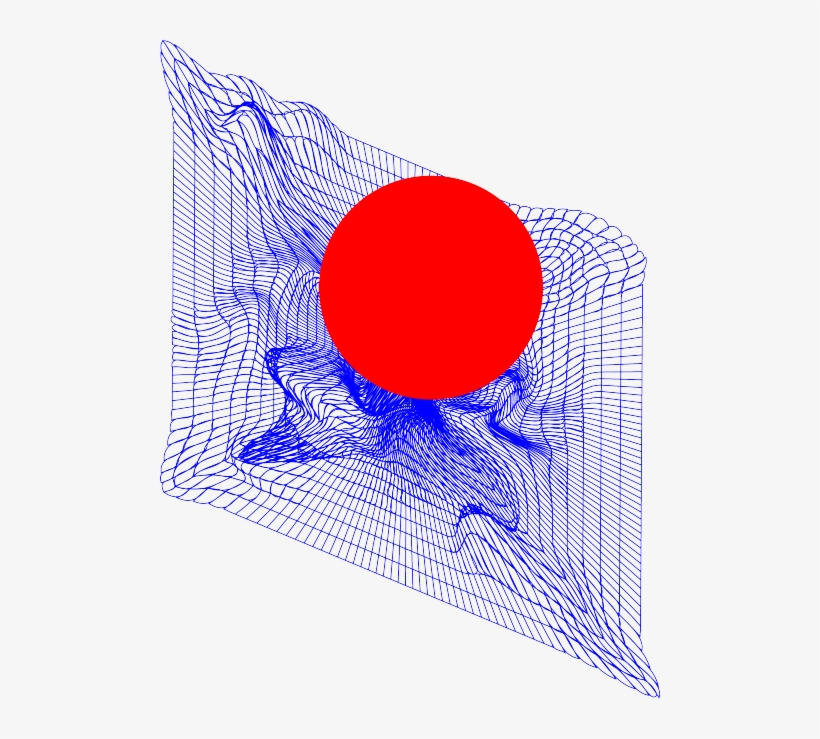 Red Design Space Blue Graphic Design Abstract Grid Red And