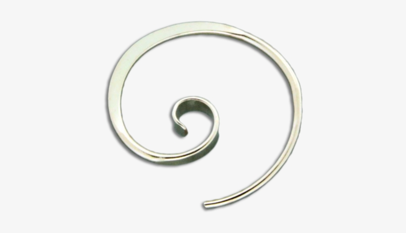 Forged Koru Earrings - Gold-filled Jewelry, transparent png #1006666