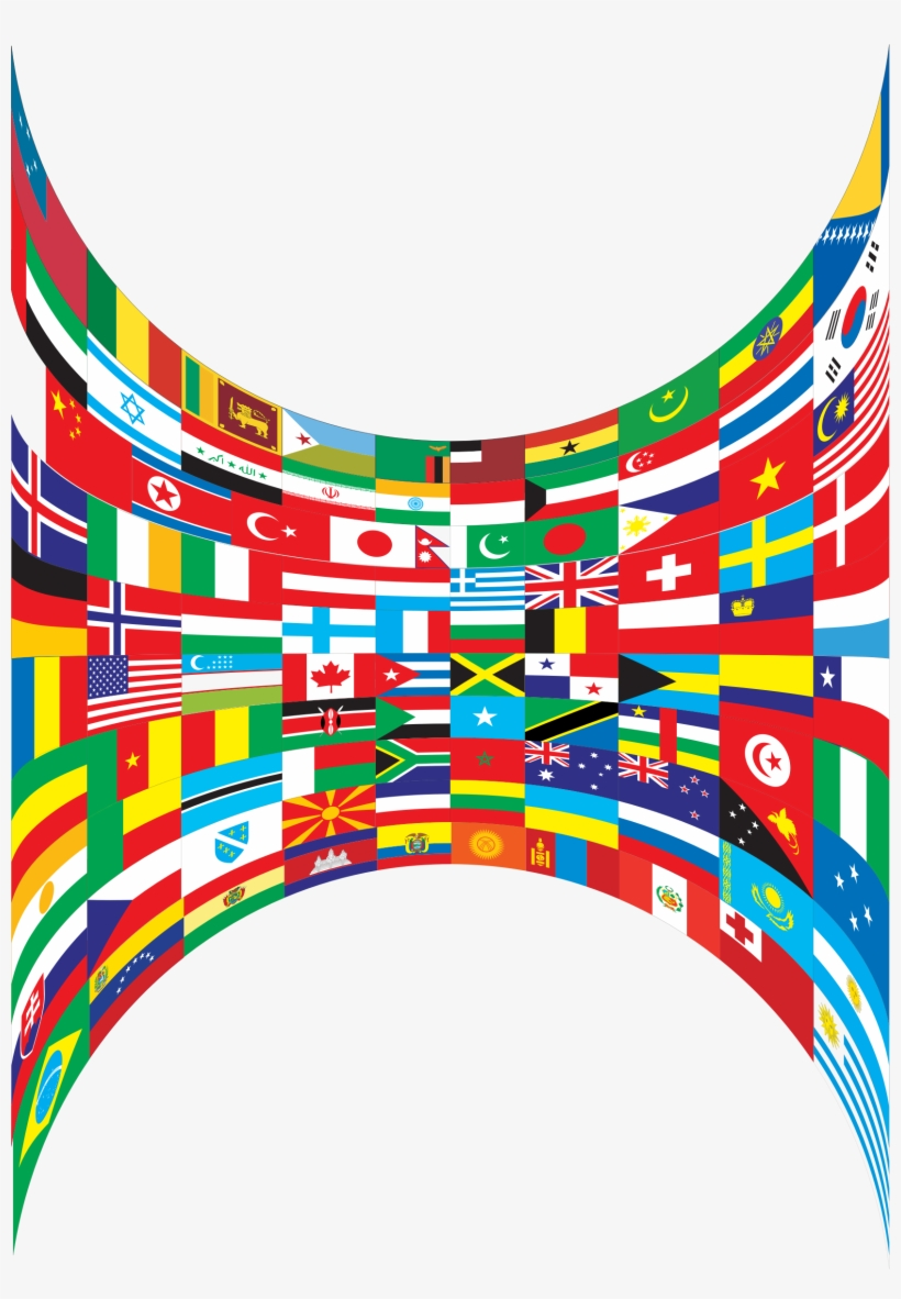 This Free Icons Png Design Of World Flags Perspective, transparent png #1007009
