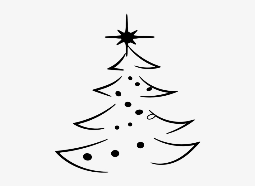 Christmas, Christmas Tree, Abstract, Decorated - Christmas Abstract Png, transparent png #1007577