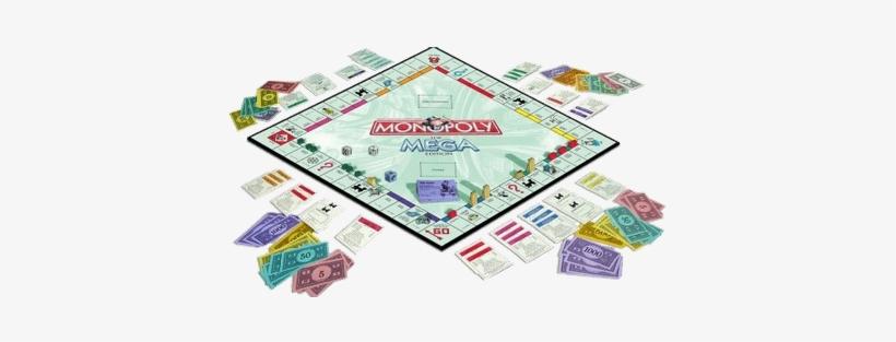 Monopoly Game - Mega Monopoly, transparent png #1007639
