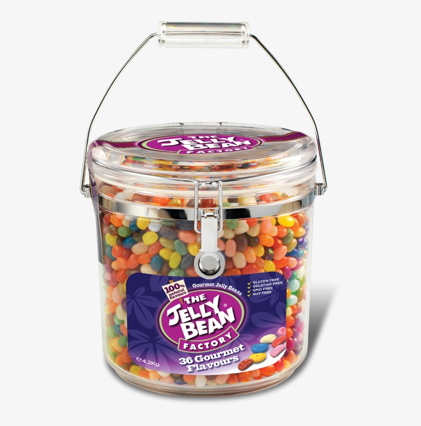 The Jelly Bean Factory - Jelly Bean Factory Jelly Bean Cookie Jar 4.2kg, transparent png #1007797