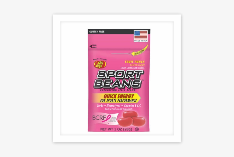 You Are Here - Jelly Belly Sport Beans Jelly Beans Fruit Punch 24-pack, transparent png #1007862