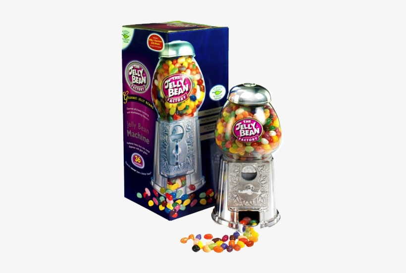 The Jelly Bean Factory Bean Machine - Jelly Bean Factory Machine With 600g Of Jelly Beans, transparent png #1007886