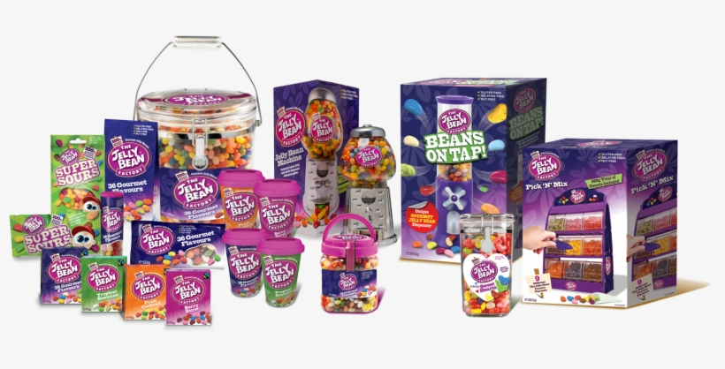 Established In 1998 By Father And Son Team, Peter And - Jelly Bean Factory Machine With 600g Of Jelly Beans, transparent png #1007969