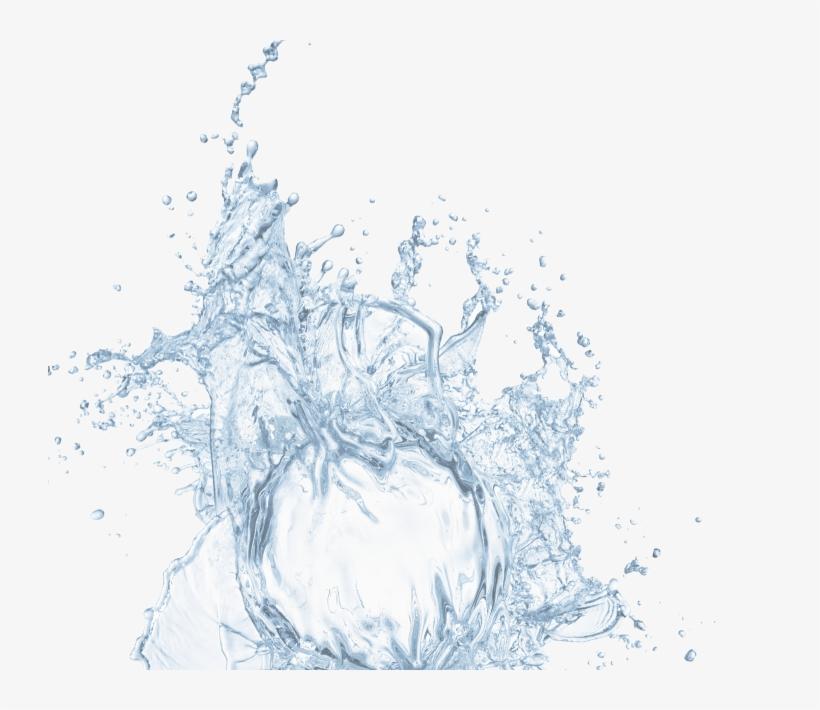 White Water Splash Png Download - Lemon Water Lemon Splash Png, transparent png #1009893