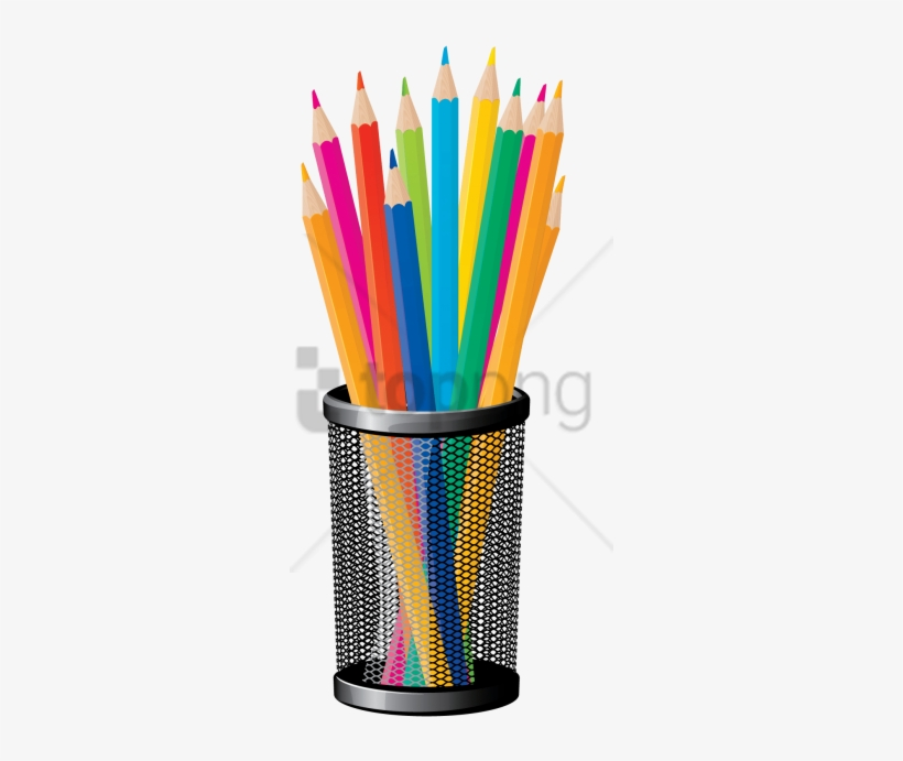 Free Png Color Pencil Png Png Image With Transparent - Back To School Vector Png, transparent png #10052534