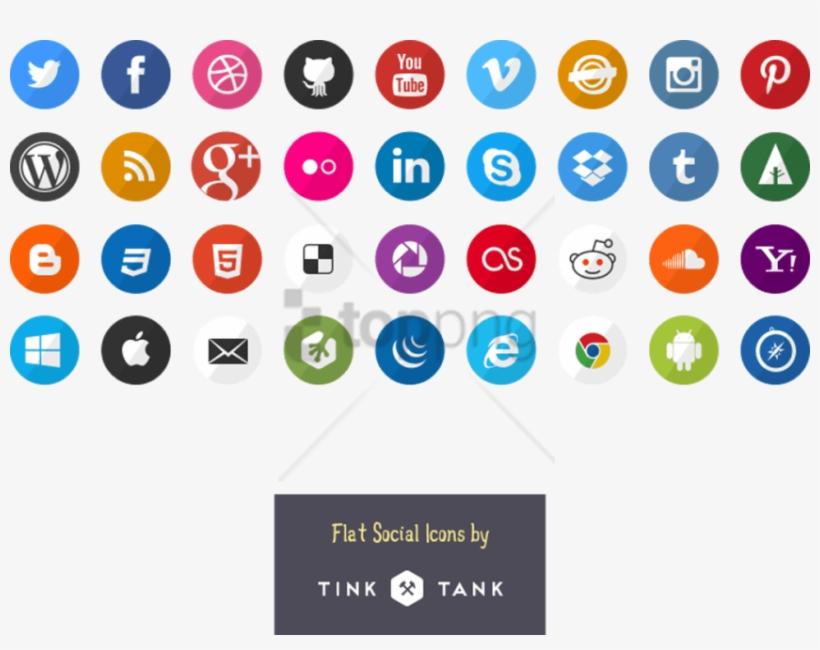 Simple Social Icons, transparent png #10053265