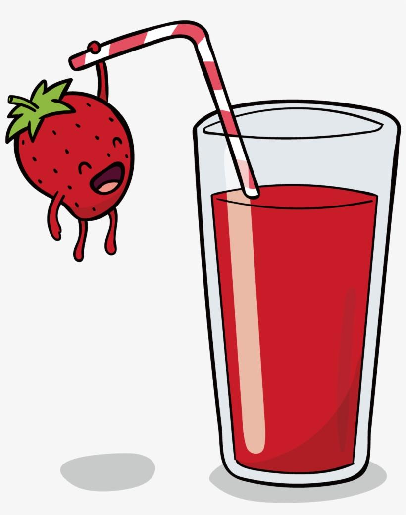 Orange Juice Smoothie Pomegranate Juice Strawberry - น้ำ ผล ไม้ วาด, transparent png #10058300