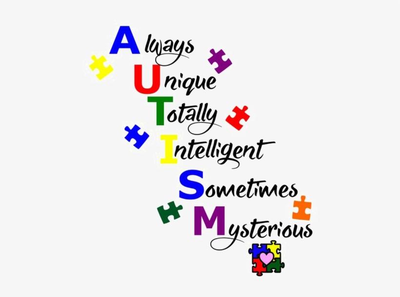 Autism Awareness Png Clipart - Autism Awareness Autism Quotes, transparent png #10060435