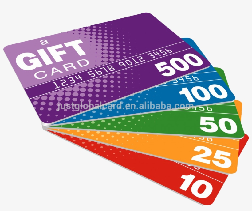 Money Gift Cards, transparent png #10062027