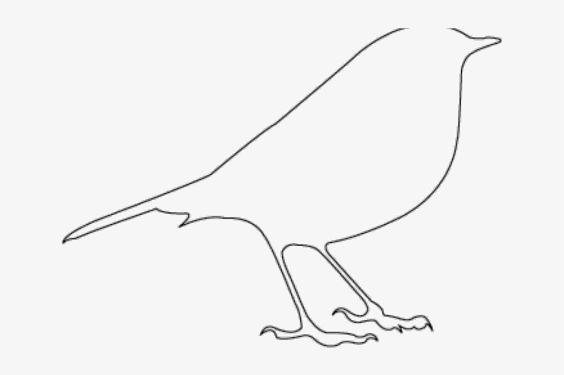 Bird Stencil, transparent png #10062298