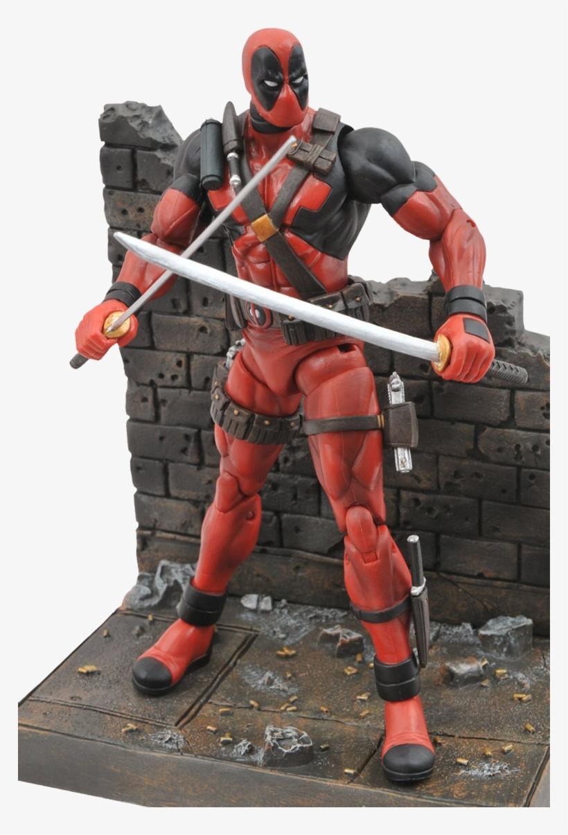 Deadpool Action Figure - Marvel Select Deadpool Action Figure, transparent png #10065234