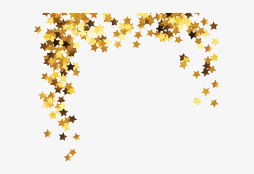 Snapchat Filters Clipart Overlay Transparent Gold Stars