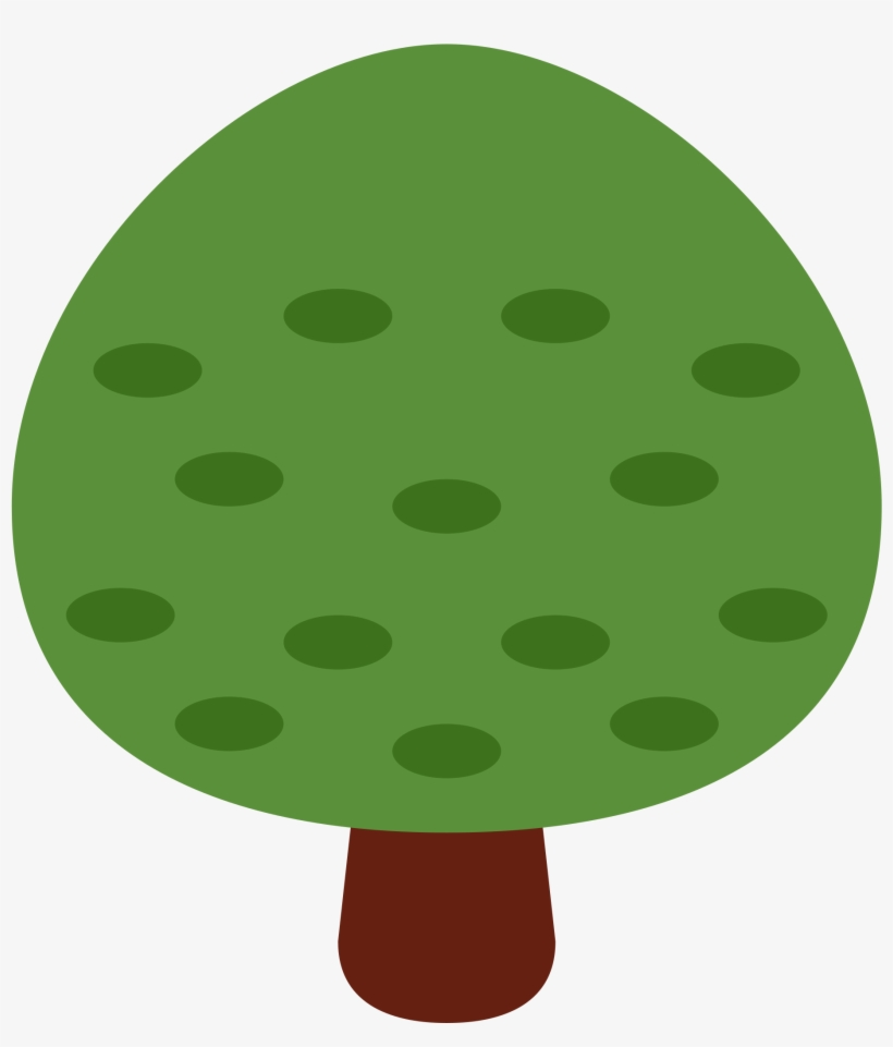 Deciduous Tree - Deciduous Tree Emoji, transparent png #10065662