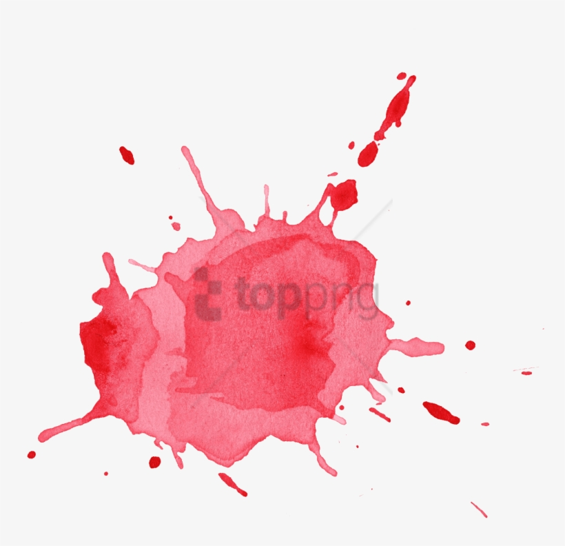 Free Png Red Paint Splash Png Png Image With Transparent - Png Transparent Watercolor Splash Png, transparent png #10065719