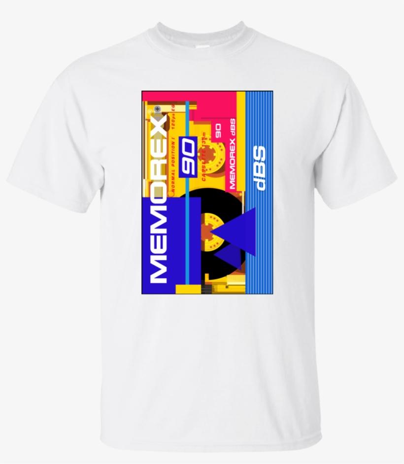 Mens T Shirts Fashion 100% Cotton Short Sleeve O Neck - Memorex Shirt, transparent png #10067082