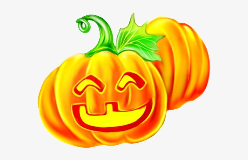 Comics Download Pumpkin Transprent Png Free Winter - Calabaza De Halloween Anime, transparent png #10067864